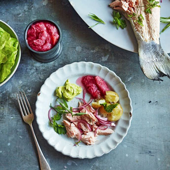 Gorgeous fish suppers to help beat the blues