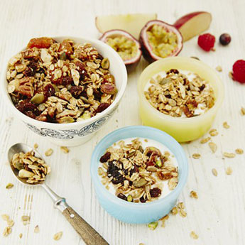Jools' granola is a breakfast staple – and so easy!