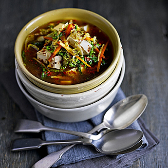 Healthy soup recipes for a warming mid-week meal