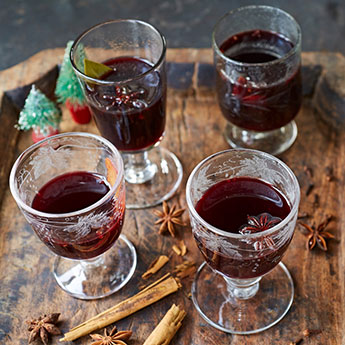 Make a batch of mulled wine this weekend