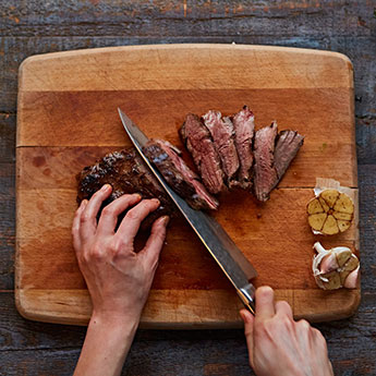 Learn to cook the perfect steak at the Jamie Oliver Cookery School