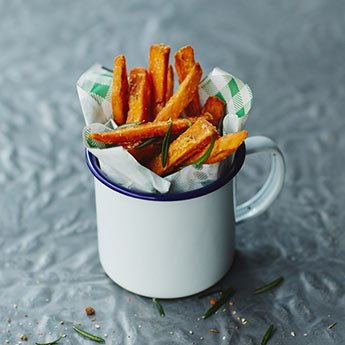 How to make sweet potato fries