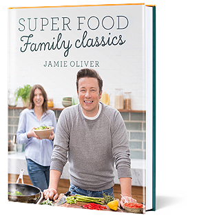 Jamie Oliver's Super Food Family Classics recipe book
