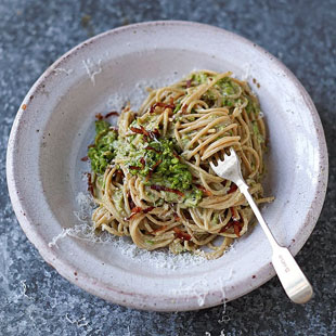 A nutritious twist on the classic carbonara