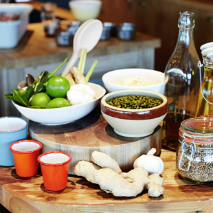 Book in at the Jamie Oliver Cookery School