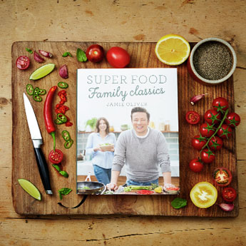 Win a signed copy of Jamie's Super Food Family Classics