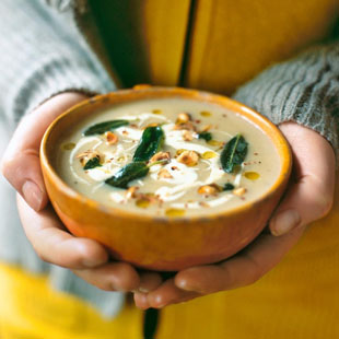 Winter soups for a warming week