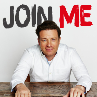 Sign up & join Jamie's Food Revolution