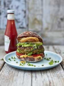 Brilliant veggie burger