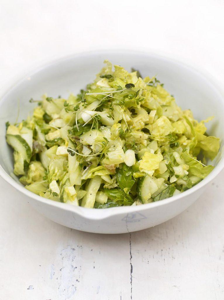 Everyday green chopped salad