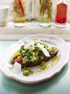 Posh beans on toast