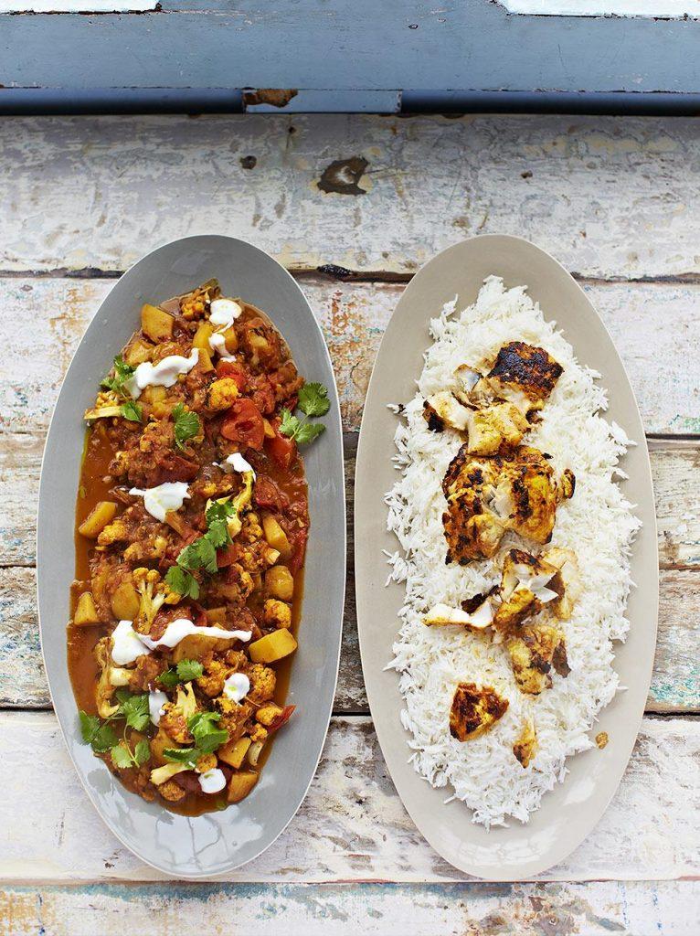 Fantastic fish tikka curry
