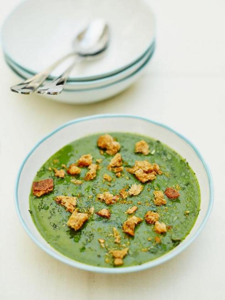 Garden glut soup