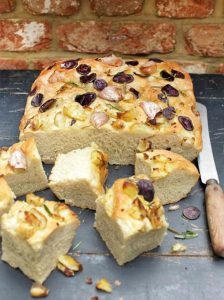 Potato and rosemary focaccia