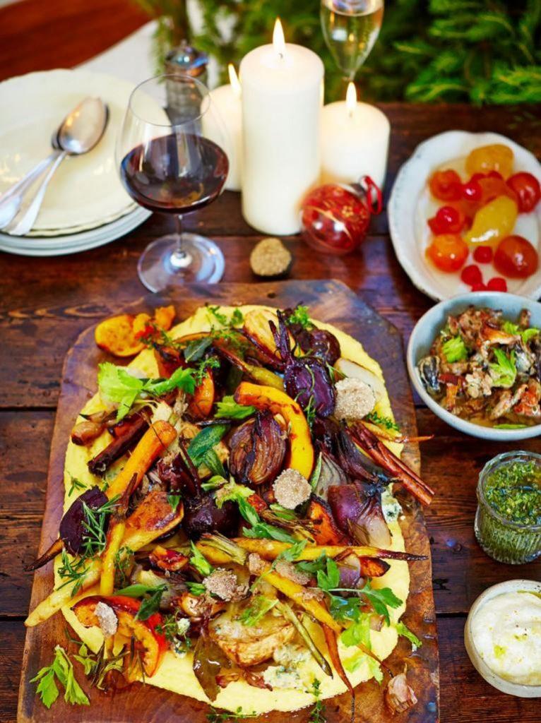 Vegetarian Christmas Dinner.Ridiculously Good Roast Alternatives For Vegetarians