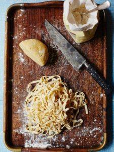 Gluten-free pasta dough