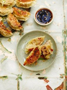 Pork & cabbage potstickers