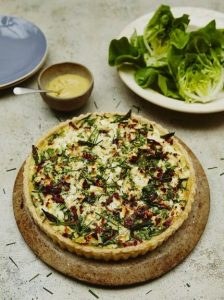 The ultimate spring quiche