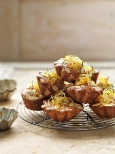 Lemon & rosemary cakes