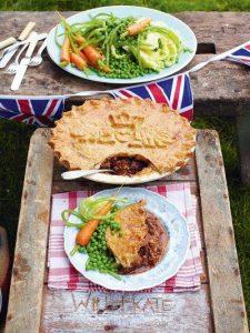 Kate & Will's wedding pie