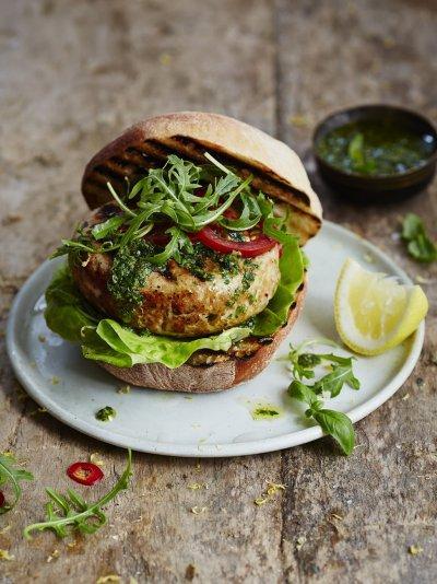 The best tuna burger