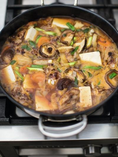 Korean chicken hotpot