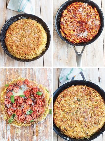 Gennaro's pasta frittata