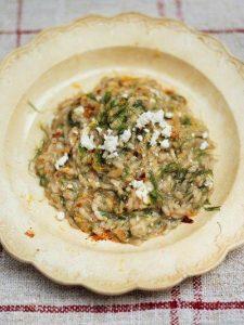 Fennel risotto with ricotta & dried chilli