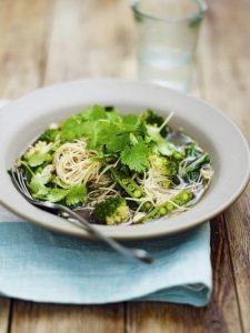 Green dream noodles