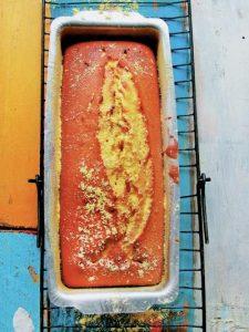 Brazilian polenta cake
