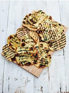 Easy flatbreads