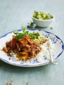 Sweet potato & white bean chilli