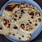tortilla freshly made on a plate