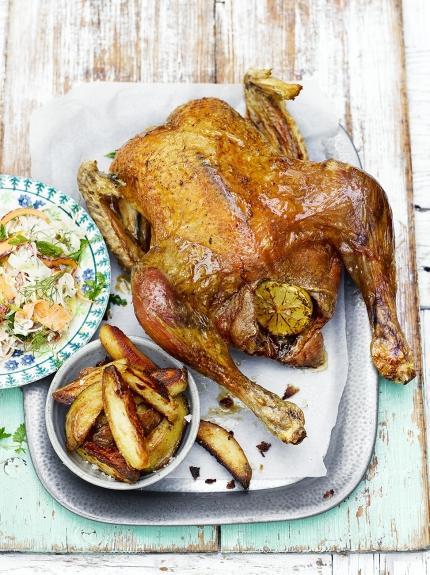 Super roast chicken & chips
