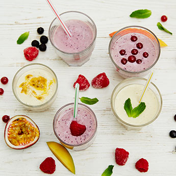 Recipes for the perfect smoothie