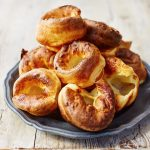 yorkshire puddings on a plate