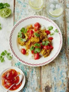 South Asian chicken curry