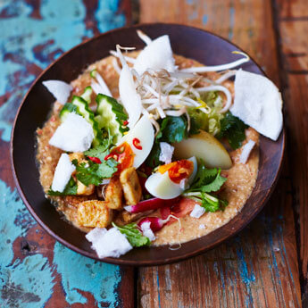 Punchy gado-gado salad – jam-packed with flavour