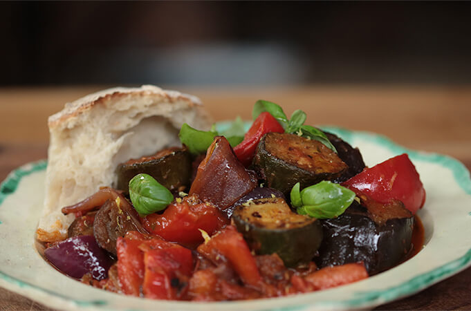Try making a classic ratatouille tonight
