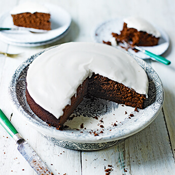 Chocolate Guinness cake, perfect for St Patrick's Day
