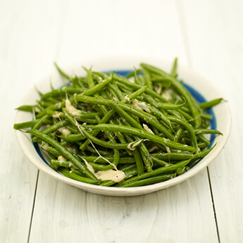 These lemony green beans are the perfect side dish