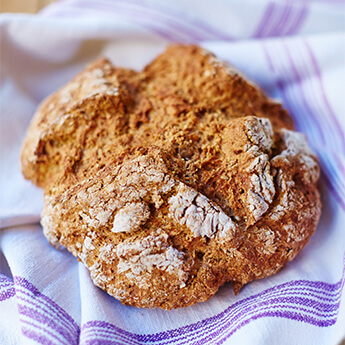 Why not try making this simple soda bread?
