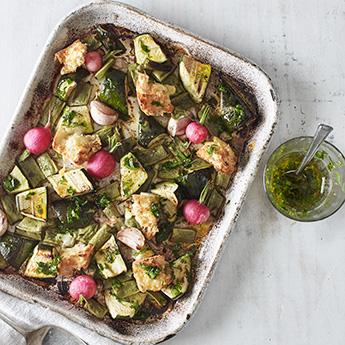 A one-pan wonder that makes dinnertime a breeze