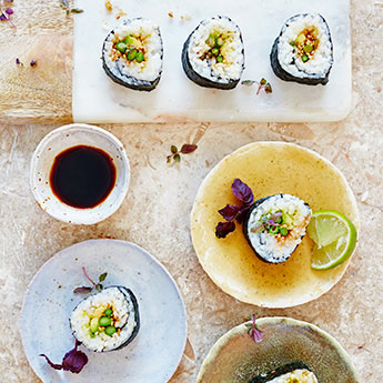 Master the art of sushi at the Jamie Oliver Cookery School