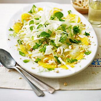 A fresh & crunchy salad to brighten up any table