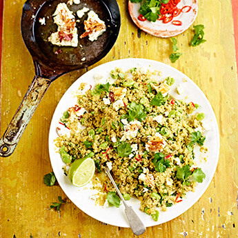 A great way to use quinoa if you haven't tried it before