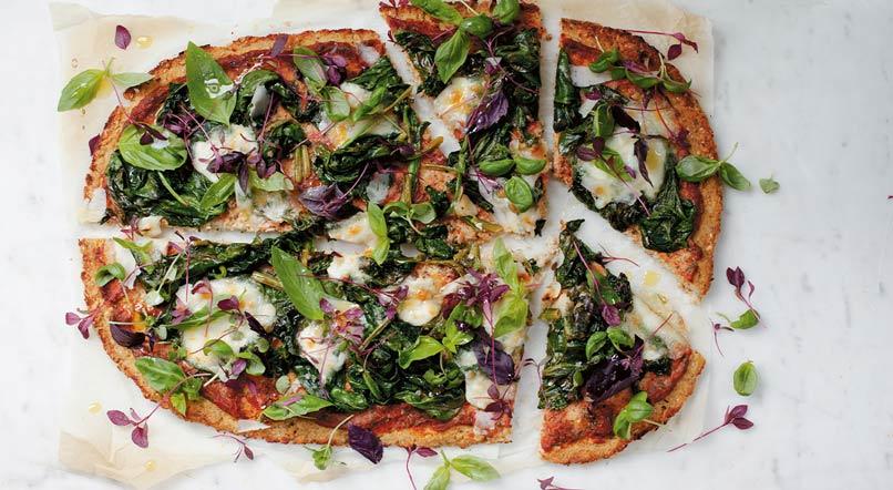 Gluten-free pizza: Anna Jones