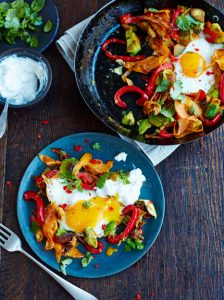 CHARRED AVO & EGGS
