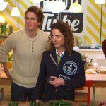 Jamie with Gennaro at Food Tube