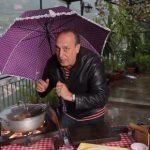 gennaro contaldo cooking in the rain
